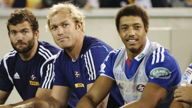Japan-bound: Schalk Burger (C).