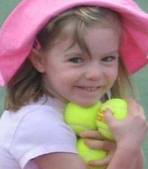 Vanished seven years ago: Madeleine McCann.