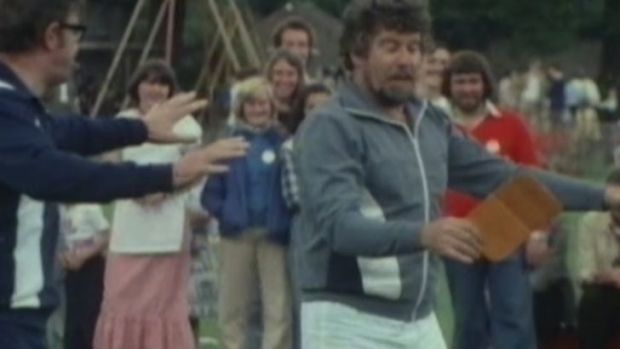 Video from 1978 has emerged at the trial of Rolf Harris.