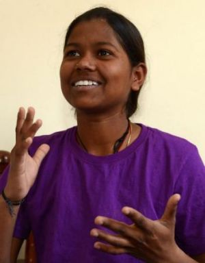 Malavath Poorna is now looking forward to her mother's fried chicken at home in India's tropical southern state of Telangana.