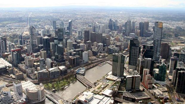 Surging: Building approvals in Victoria have risen by 14.9 per cent.