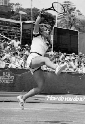 Wendy Tuurnbull in action in 1980.