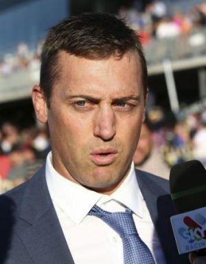 "Tony Gollan: ""I think everyone is nervous because we know what happens to Eagle Farm if we get rain during the meeting."""
