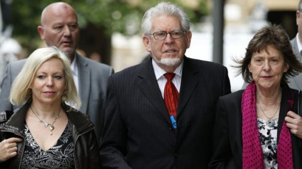 Australian entertainer Rolf Harris arrives at Southwark Crown Court with daughter Bindi on Tuesday.