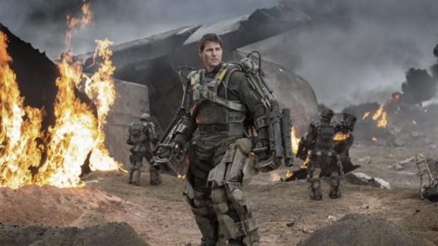 Tom Cruise in <i>Edge of Tomorrow</i>.