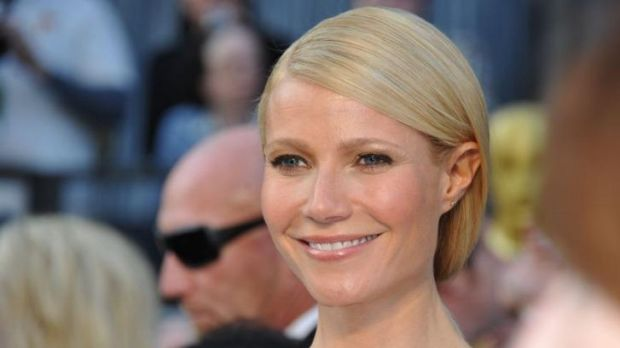 Gwyneth Paltrow: being mean to water changes its molecular structure.