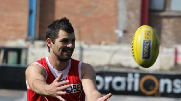 Once a diamond in the rough: Heath Grundy has overcome many obstacles in his career at the Sydney Swans.