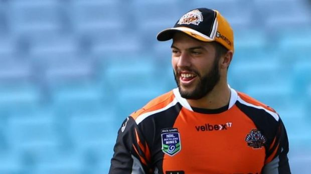 Reneged: James Tedesco will stay with the Tigers.
