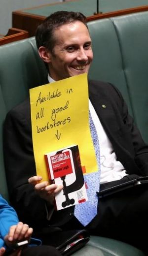 Shadow Assistant Treasurer Andrew Leigh during Question Time at Parliament House in Canberra on Wednesday.