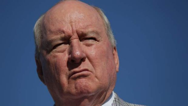 Broadcaster Alan Jones has been accused of undermining the Coalition by Malcolm Turnbull.