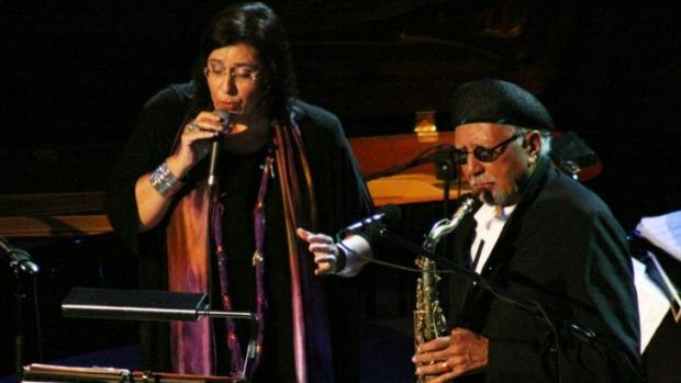 Maria Farantouri and Charles Lloyd perform.