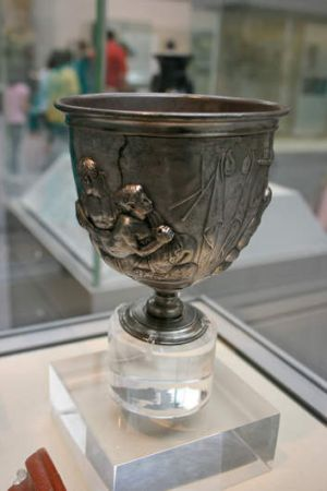 Object of desire: Browne did not support the acquisition of the Warren Cup by the British Museum, because of its ...