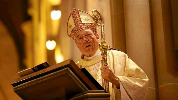 Cardinal George Pell is in charge of Vatican finances.