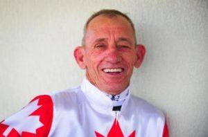 Kevin Sweeney will be one of the first jockeys to ride a horse on the renovated Canberra track.