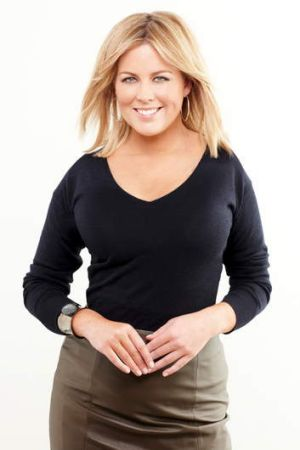 No shrinking violet: Sam Armytage.
