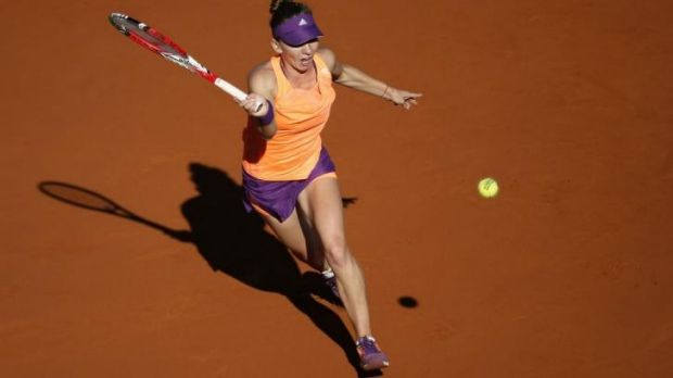 New heights: Simona Halep is into her first grand slam final.