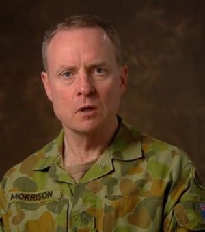 Chief of Army David Morrison.