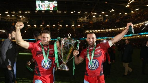 Foreign legion: Drew Mitchell and Matt Giteau have prospered in Europe, but have surrendered the right to play for the ...
