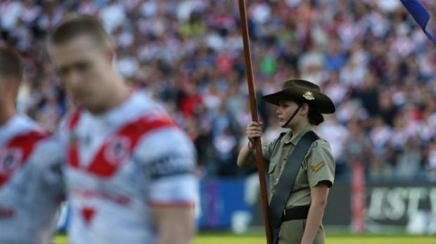 Five game marathon: There are plans to stage five consecutive matches on Anzac Day next year.