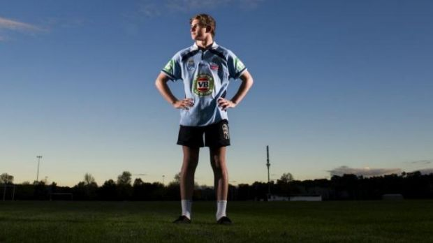 Canberra's Daylan Goodsell will be a ballboy for the Blues in Origin II.