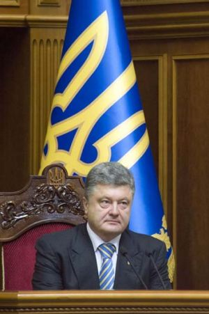 """I am assuming the presidency in order to preserve and strengthen Ukraine's unity"": Ukraine's new president Petro ..."
