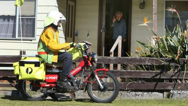 Declines: Australia Post is lobbying to reduce its five-day mail service to three days.