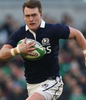 On the scoreboard: Stuart Hogg.