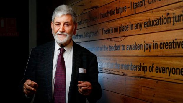 Barry Jones AC: will continue to try to save world.