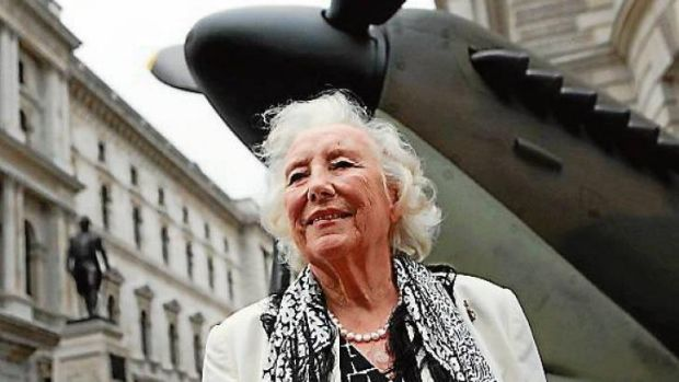 Charting success ... Dame Vera Lynn, famous for her D-Day song <i>We'll Meet Again</i>, is once again in the top 20 of ...