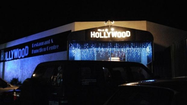Entrance to Hello Hollywood