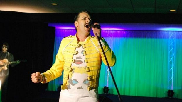 The Freddie Mercury tribute act takes to the stage