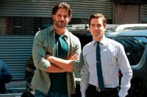 Big role: Matt Bomer (right) is soon to appear in <i>The Normal Heart</i>.