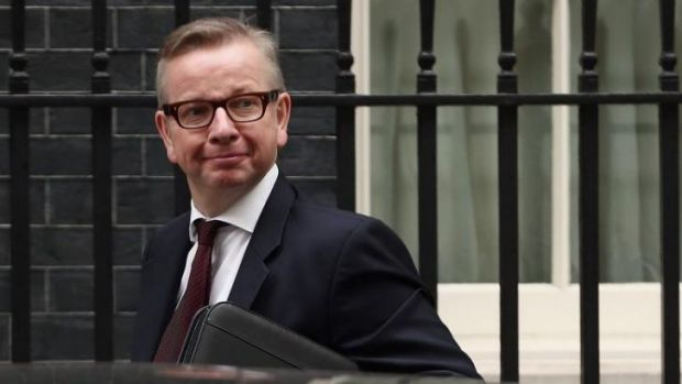 British Education Secretary Michael Gove.