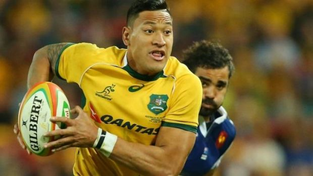 Israel Folau is also a reported target of Top 14 club Toulon.