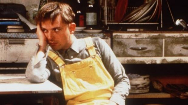 Young and restless ... Rik Mayall as Rick in <i>The Young Ones</i>.