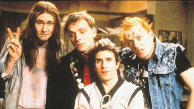Bless <i>The Young Ones</i> for being comic inspiration to Adam Hills.