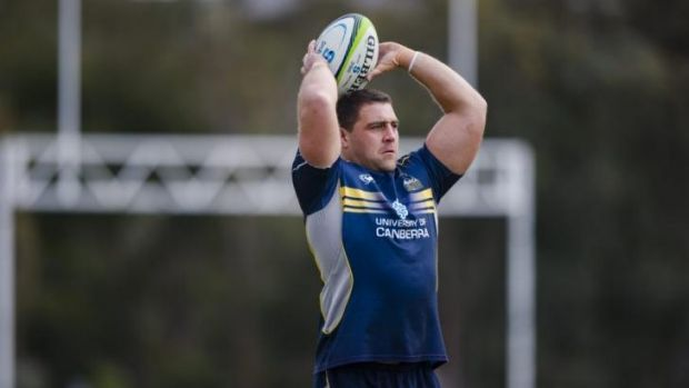 Stephen Moore's injury has opened the door for josh Mann-Rea to grab the hooking role.