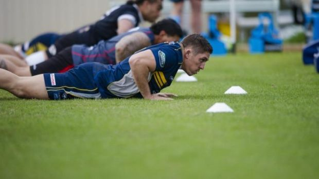 Luke Holmes could see Super Rugby action faster than first thought.