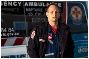Luke Baird says he is still paying off his HECS debt after four years of becoming a paramedic.