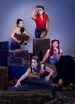 Brisbane vocal group Babushka indulge in champagne and confessions in I Can Keep a Secret.