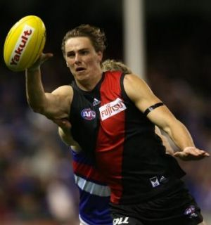 Joe Daniher pulled in six contested marks and booted 3.4 against the Giants in the most impressive display of his ...