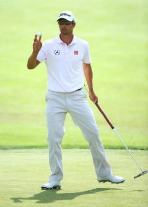 Adam Scott  is riding a wave of momentum into the season's second major championship.