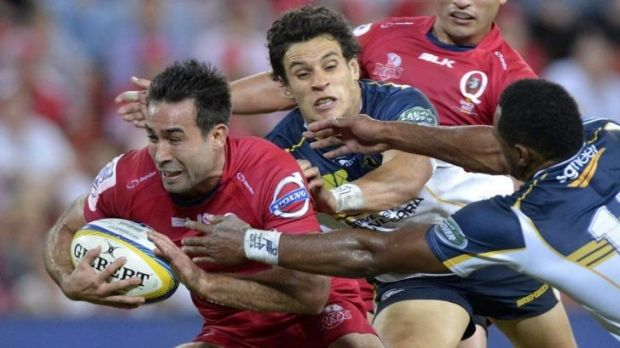 Bon voyage: Reds speedster Rod Davies will continue his career in France.
