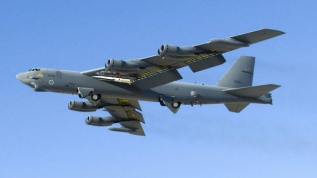 The B-52 bomber ... Three US Air Force personnel died after a B-52 broke up over North Carolina on January 24, 1961. One ...