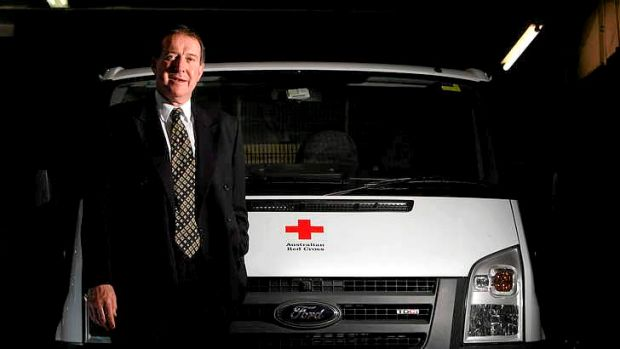 "Australian Red Cross chief executive Robert Tickner  said the news was ""especially hurtful"" as the organisation prepared ..."