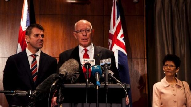 The decision by the Baird government in NSW to replace Marie Bashir with another Defence Force chief, General David ...