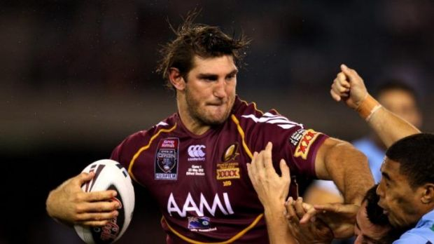 Dave Taylor last played State of Origin in 2012.