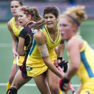 Canberra's Anna Flanagan is leading a new era of Hockeyroos.