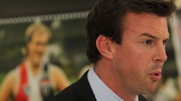 Ian Prendergast has acknowledged his disappointment he will not lead the organisation permanently.