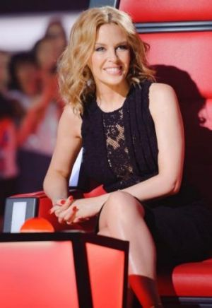 Kylie Minogue is following her stint on <i>The Voice</i> with an action blockbuster <i>San Andreas</i>.